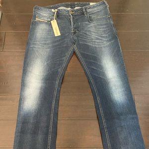 Men's Diesel 34x30 Zatiny Jeans 0802C Stretch